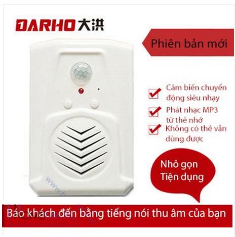 Báo khách phát nhạc MP3 từ thẻ nhớ Darho