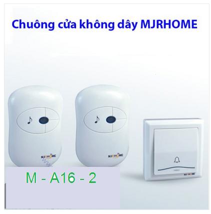 Chuông cửa không dây MJRHOME M-A16-2