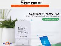 Công tắc thông minh Sonoff POW R2 điều khiển từ xa qua WIFI, 3G, 4G; công suất lớn