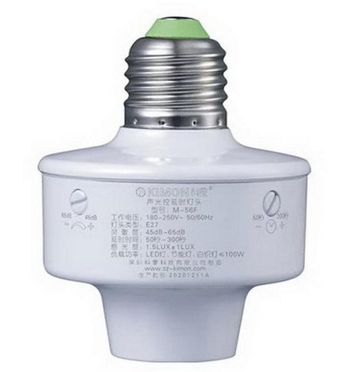 Đui đèn cảm ứng âm thanh, ánh sáng Kimon M-56F