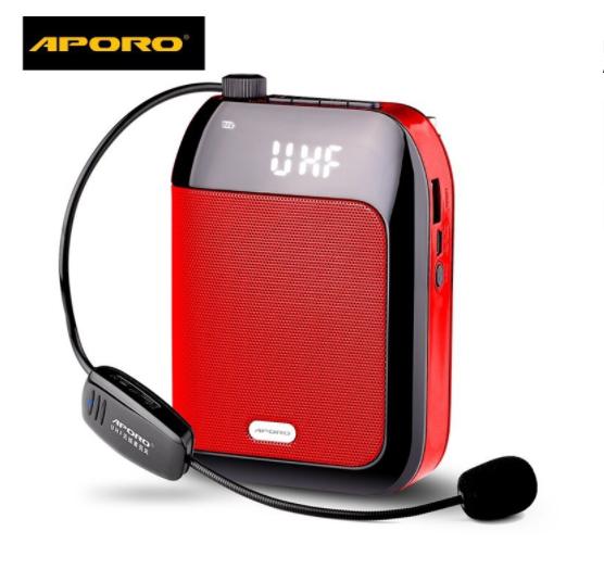 Máy trợ giảng micro không dây Aporo T9 UHF